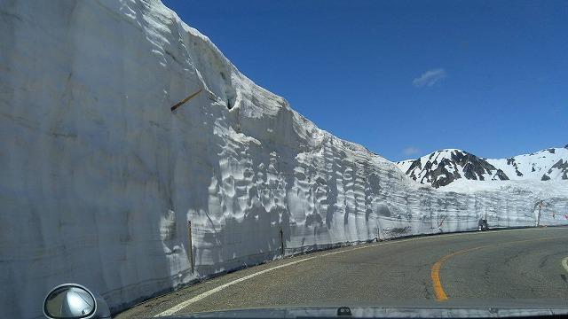雪の大谷 2020年5月