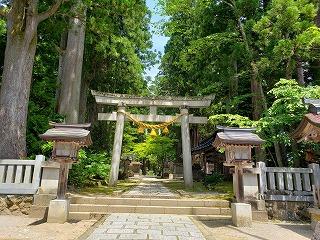 あしくら雄山神社